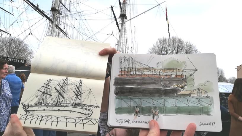 Cutty-Sark-sketches 1