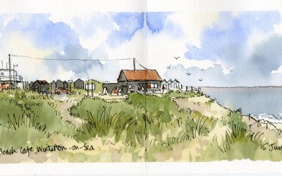 Holiday sketchbook from Norfolk Broads